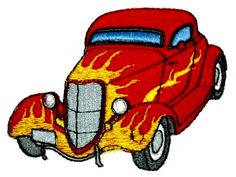 American Hot Rods Machine Embroidery Designs http://www.designsbysick.com/details/americanhotrods
