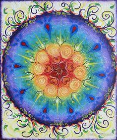 Mandala of Life - by Diane Andrasic