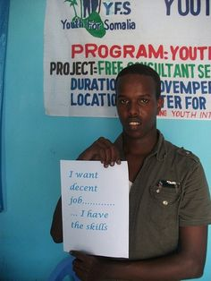 Fos, 23 years, Somalia #YouthSkillsWork Project Free, Things I Want, Campaign, Youth, Technology, Projects, Tech, Blue Prints, Young Man