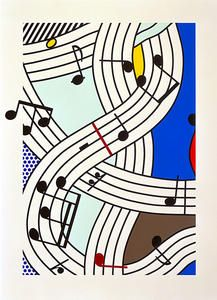 Composition - (Roy Lichtenstein)