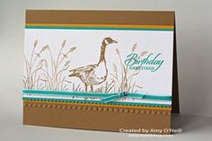 Stampin' Up! stamp set Wetlands by Amy O'Neill, Amy's Paper Crafts