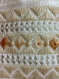 Hardanger Embroidery, Ribbon Embroidery, Cross Stitch Embroidery, Beading Patterns, Embroidery Patterns, Crochet Patterns, Bargello Patterns, Palestinian Embroidery, Swedish Weaving
