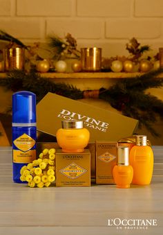 There's no better gift this year than our most coveted L'OCCITANE collection. Moms, sisters, and friends will love our Divine gift. This range is formulated with organic Immortelle essential oil that contains anti-aging properties, helping to visibly reduce the appearance of wrinkles and reduce uneven skin tones. If you know a truly divine woman, treat her to these award winning products.
