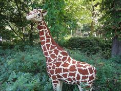 LEGO sculptures - Bronx zoo
