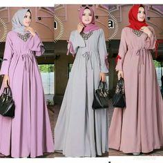 Gamis Terbaru 2018 Jaguar Rose Marun Style Hijab Fashion Rose