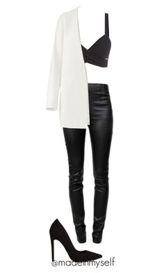 madeinmyself by madeinmyself on Polyvore featuring moda, Non, Alexander Wang and ASOS