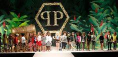 Philipp Plein Junior a Pitti Bimbo con la collezione Primavera Estate 2015