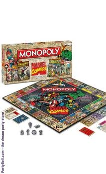 You mean I get to be Ironman AND play monopoly? Marvel Comics Monopoly Game Collector's Edition $47.08 -> SHUT UP AND TAKE MY MONEY!