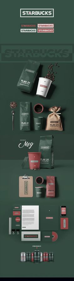 Starbucks - Rebranding by Simon Waloszek
