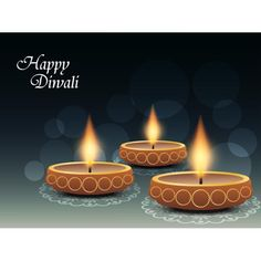 Vector Happy Diwali logo with pattern design on glowing diya in background vintage pattern design Diwali greeting card and wallpaper design ...