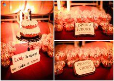 nothing bundt cake wedding Wedding 2015, Wedding Events, Our Wedding, Dream Wedding, Wedding Ideas, Wedding Cupcake Table, Wedding Cupcakes, Cake Wedding, Nothing Bundt Cakes