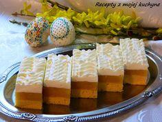 Naše obľúbené jablkové rezy, tento rok ich máme ako sviatočný Veľkonočný zákusok ku káve... Cheesecake, Fruit Cakes, Tarts, Food, Mince Pies, Pies, Cheese Cakes, Fruit Pie, Eten