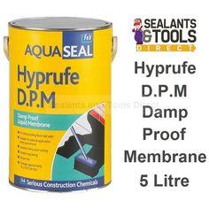 everbuild aquaseal hyprufe black liquid dpm 5 litre