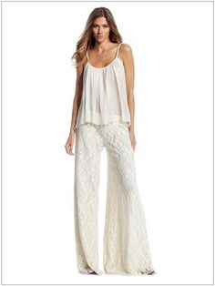 lace pants by No Store
