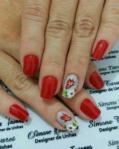 Cute Nail Art, Cute Nails, Pig Nails, Manicure And Pedicure, Hair And Nails, Nail Art Designs, Finger, Tattoos, Chic Nails