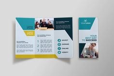 Business Tri-fold Brochure - MEM by NEXDesign on @creativemarket