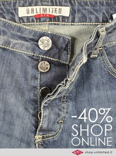 Newsletter UNLIMITED by Gestionionline.net #gestionionline #ecommerce #newsletter #fashion #jeans #shoponline #man #woman