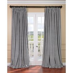 Exclusive Fabrics Furnishing Curtains Drape VPCH VET121Exclusive Signature Doublewide Blackout