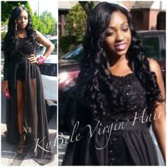 "PROM HAIR - 24"" 26"" 28"" Brazilian Venus Straight from the Goddess Collection at www.kybelevirginhair.com"