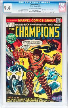 The Champions #1 (Marvel, 1975)