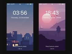 Mobile phone wallpaper effect display by XINBO #Design Popular #Dribbble #shots
