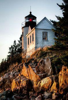 Acadia Guardian Bass Harbor Lighthouse, Acadia National Park, Maine