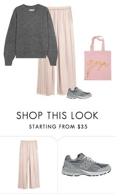 """""""22:22"""" by andreaellegaard ❤ liked on Polyvore featuring New Balance, Étoile Isabel Marant and Stine Goya"""