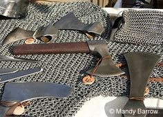 Weapons used  in The Battle of Hastings 1066