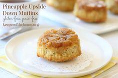 Pineapple Upside Down Muffins by @KeeperHome