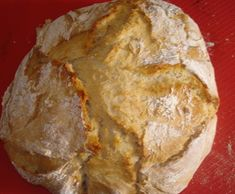 Rustic Bread, Meat, Thumbnail Image, Food, Corn Spoon Bread, Rolled Oats, Other Recipes, Loaf Bread Recipe, Amigos