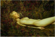 El sensual trabajo de la china Zhang Jingna.