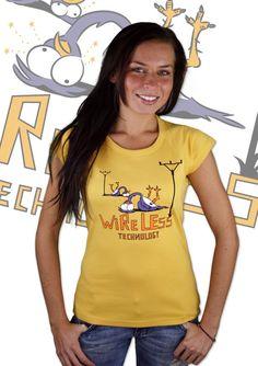 Wi-Fi Damen T-Shirt    http://www.bastard-shop.de/damen-t-shirts/wi-fi-damen-t-shirt-480/