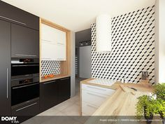 Ambrozja 3 projekt domu - Jesteśmy AUTOREM - DOMY w Stylu Kitchen Cabinets, Kitchen Appliances, Dream House Plans, Interior And Exterior, Furniture, Home Decor, Kitchen Inspiration, Houses, Kitchens