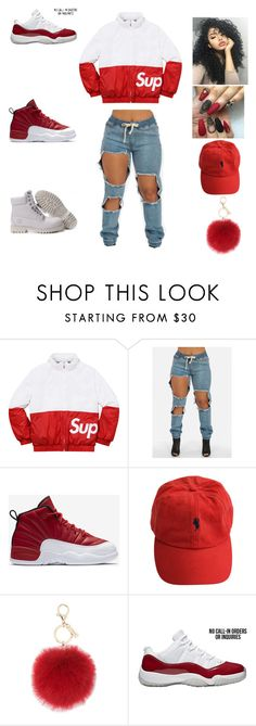 """""""fashion killa part 7"""" by aleisharodriguez ❤ liked on Polyvore featuring Champion, NIKE and L.K.Bennett"""