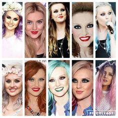 Perrie Edward hair Colour