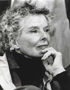 """Katharine Hepburn who was taught to """"speak her mind and develop it fully"""" and did so magnificently until she died at 96.  One classy lady."""