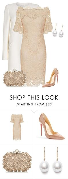 """outfit 7435"" by natalyag ❤ liked on Polyvore featuring Christian Louboutin and Jimmy Choo"