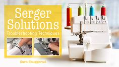 A free video lesson series playlist offering tips, techniques, and tutorials for sewing with a serger. Pick and choose or watch them all. Nineteen free video lessons featuring serger how-to's, tips, and techniques:. Sewing Hacks, Sewing Tutorials, Sewing Tips, Sewing Patterns, Burda Patterns, Sewing Basics, Craft Tutorials, Sewing Ideas, Sewing Projects For Beginners