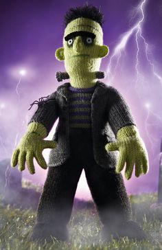 He's here - Alan Dart's Halloween Hulk! | Simply Knitting