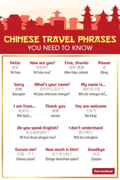 Is China included in your travel bucket list? Here are some essential travel phrases you need to know. Happy ChineseLanguageDay!