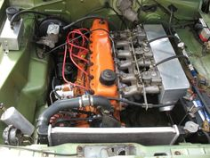 "Australian Mopar Hemi-Head ""D"" - '265' - 3x2 Barrel Side-Draft Weber Carburetion."