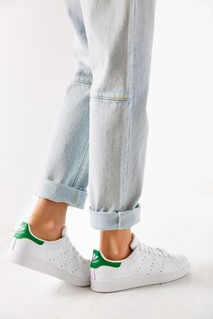 Adidas Stan Smith Beyaz Yeşil Renk | Renkli Ayaklar