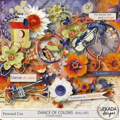 Personal Use :: Kits :: Dance Of Colors Full Kit Wreaths, Dance, Kit, Halloween, Colors, Painting, Home Decor, Dancing, Decoration Home