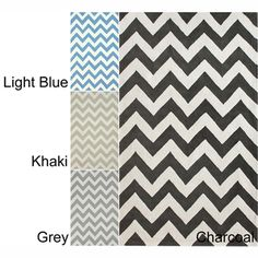 Rug Collective Handmade Indoor / Outdoor Zig Zag Chevron Rug (5' x 8') $186