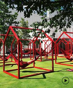 'mi casa, your casa' is a playful urban installation for the time of social distancing Public Space Design, Public Spaces, High Museum, Event Solutions, Basic Shapes, Street Furniture, Geometric Shapes, Urban, Studio