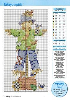 Gallery.ru / Фото #1 - Cross Stitch Crazy 090 октябрь 2006 - tymannost
