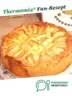 Apfelkuchen-mit Sahne Puddingguss... von Gast. Ein Thermomix ® Rezept aus der Kategorie Desserts auf www.rezeptwelt.de, der Thermomix ® Community.