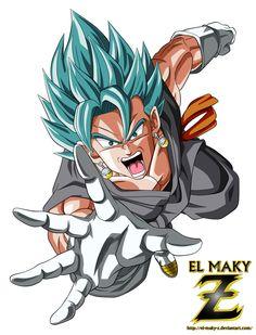 Vegetto FNF Super Saiyan Blue God by el-maky-z.deviantart.com on @DeviantArt