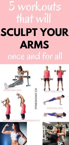 Best flabby arm workout- Discover arm workout women with weights. Nobody wants flabby arms. This arm workout for women with weights will sculpt and tone flabby arms and build muscle. Arm Workout Women With Weights, Gym Workout Plan For Women, Gym Workouts Women, Body Workouts, Killer Arm Workouts, Arm Toning Exercises, Work Out Routines Gym, Flabby Arms, Tricep Dips