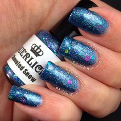 """Polished And Shined: Laquerlicious """"Shoveled Snow"""", indie nail polish, winter nail polish"""